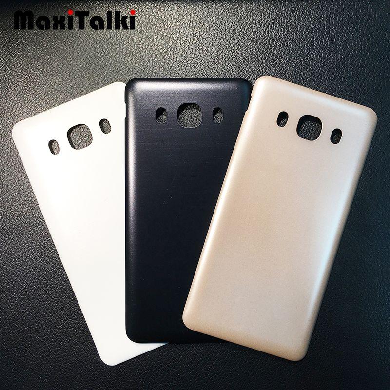 10 PCS / Lot de Haute Qualité Pour Samsung Galaxy J5 2016 J510 J510F Couvercle de la Batterie Porte Arrière Logement En Verre Couverture Cover Case