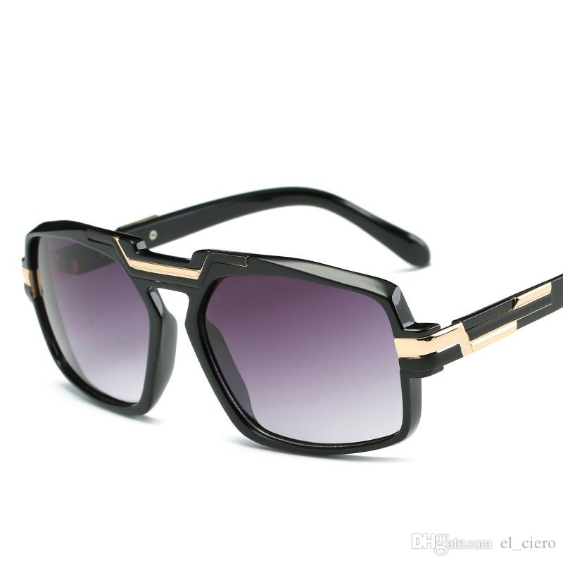 2019 nuovi occhiali da sole quadrati uomini donne occhiali grande telaio uv400 moda designer maschili femminili tonalità gafas