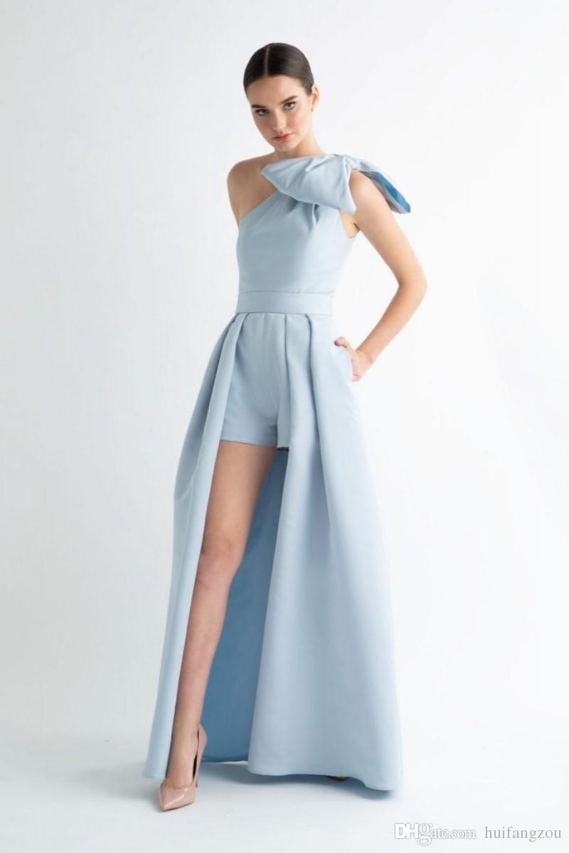 One Shoulder Prom Dress 2019 Short Women