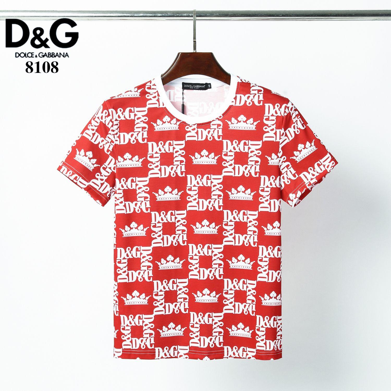 Haute qualité de conception originale des hommes et des femmes T-shirt manches courtes et col rond et exquis impression T-shirt Gt879