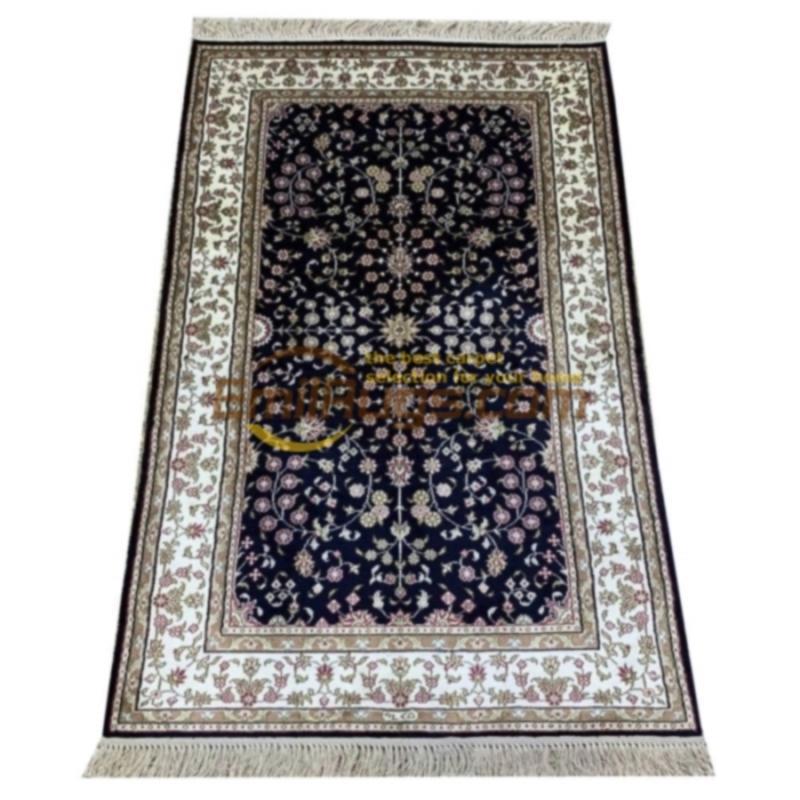 Kashmir moquette di seta, design personalizzato Kashmir moquette di seta