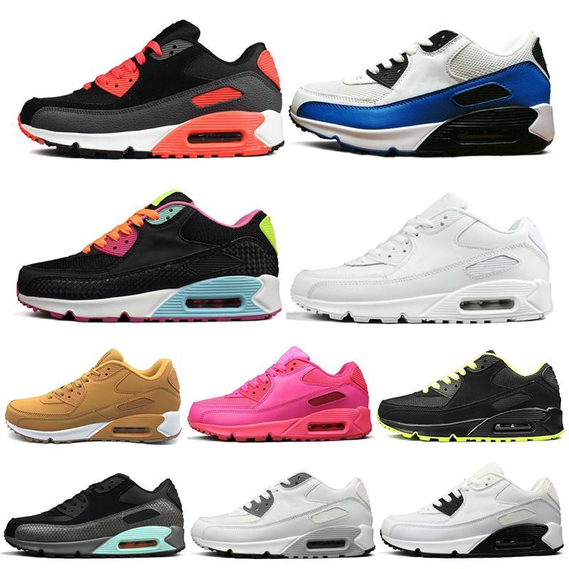 Мода Женщины Мужчины кроссовки Топ все черный белый желтый зеленый серый Mens Trainer новые спортивные кроссовки обувь размер 36-45