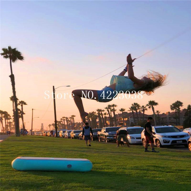 Kostenloser Versand 0,6 * 1 * 0.2m aufblasbare Günstige Gymnastik Matratze Gym Tumble Air Track Boden Tumbling Air Track For Sale