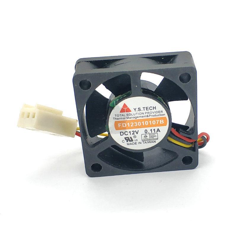 FD123010107B Y.S.TECH FD123010LS 30 * 30 * 10MM 3cm 12V 0.07A 3Lines Cooler ventilateur de refroidissement