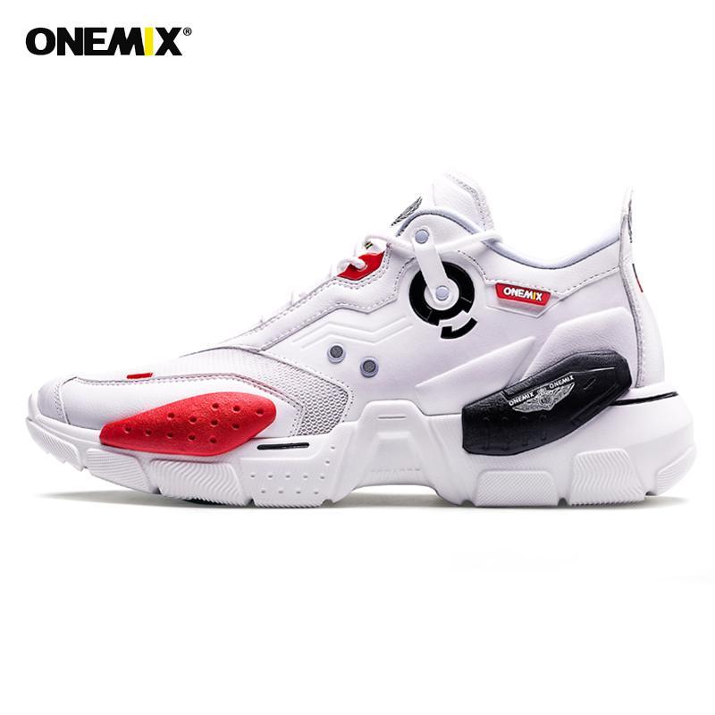 ONEMIX Super Uomini Sneakers tecnologia Trend Damping Unisex sport di pallacanestro dei pattini degli addestratori casuali scarpe da corsa jogging Sneakers