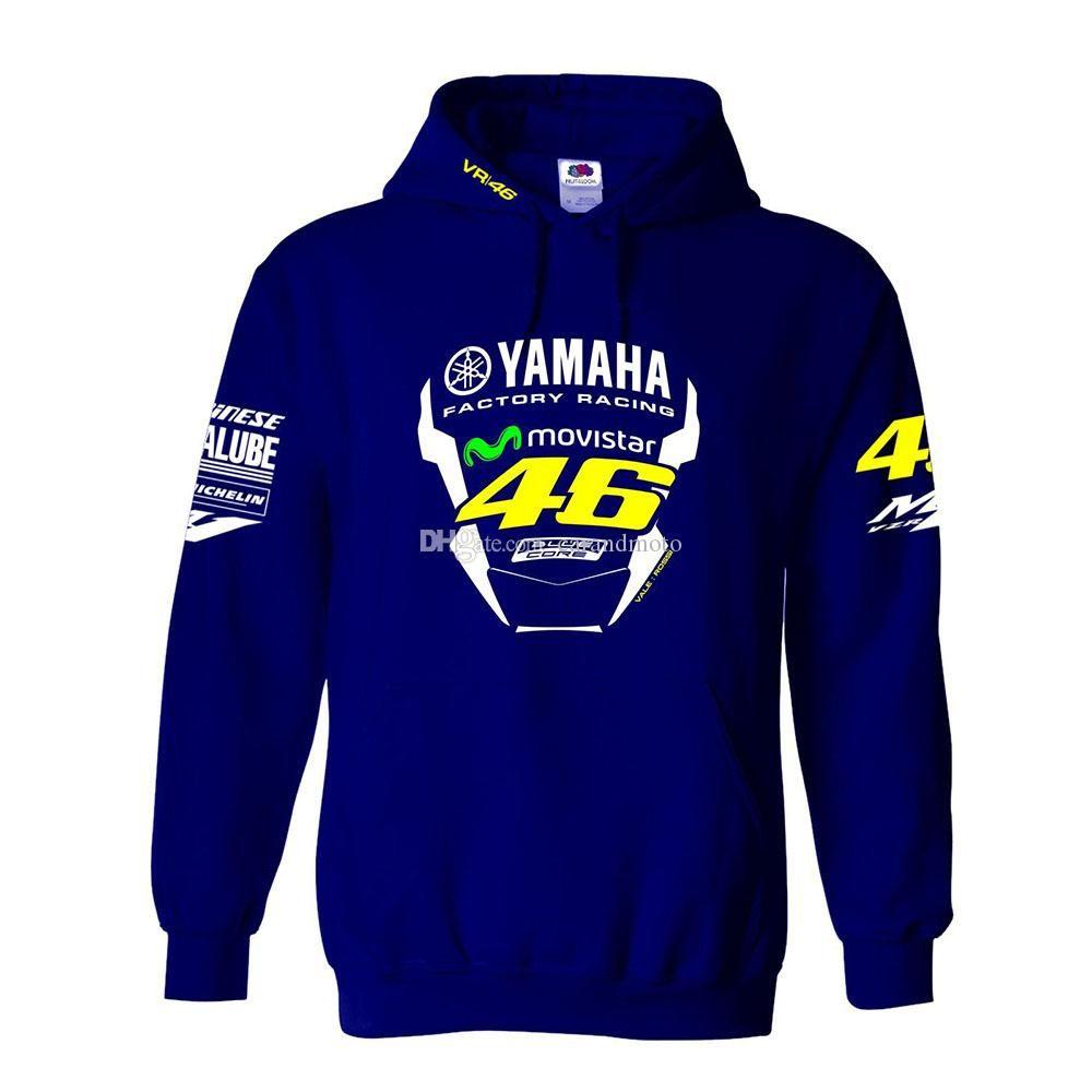 YAMAHA 공장 스포츠 승마 오토바이 운동복 방풍 크로스 재킷 남성 디자이너 재킷 지퍼 후드 티 MOTO GP 자켓