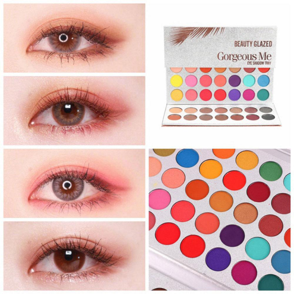 Factory Quality Beauty Glazed New Hot 63 Color Eyeshadow Pallete Glitter Makeup Matte Eye Shadow Make Up Palette Maquillage Paleta De Sombra