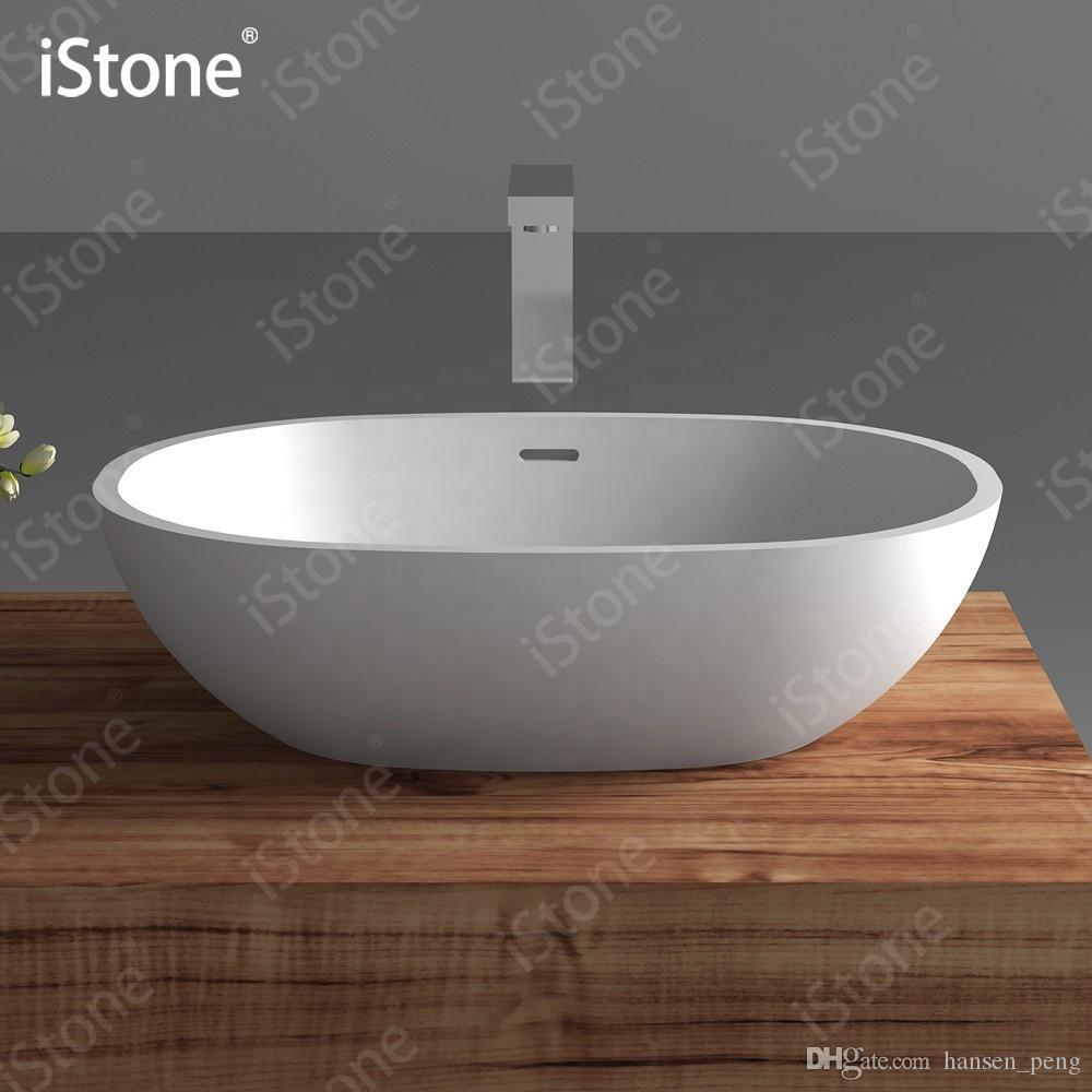 Piano Lavabo In Corian compre cuarto de baño ovalcounter top lavabo lavabo de moda lavabo corian  vanity lavabo de superficie sólida lavabo rs38388 a 279,11 € del  hansen_peng