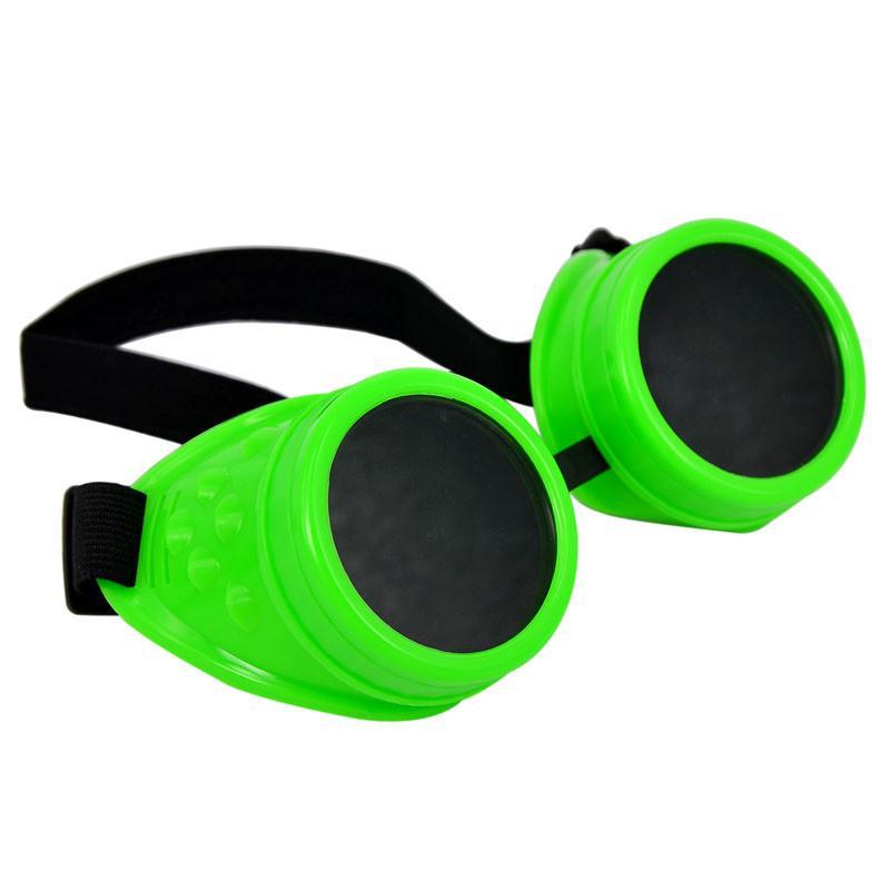 2019 Солнцезащитные очки цвет Vintage Style Steampunk очки Сварка Панк очки косплей очки кадров оптовой марка # 3