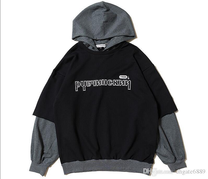 Neue Designer Gosha Rubchinskiy Hoodys Baumwollhoodies Männer, die Frauen Oberbekleidung Fashion Trend Sweatshirts