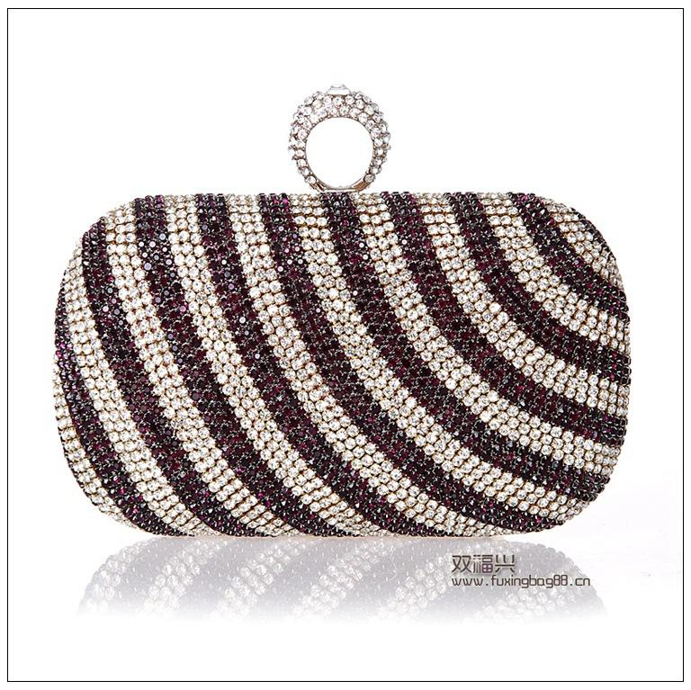 Evening Clutch Bags Diamond-Studded Evening Bag With Chain Shoulder Bag Women's Handbags Wallets For Wedding WY152