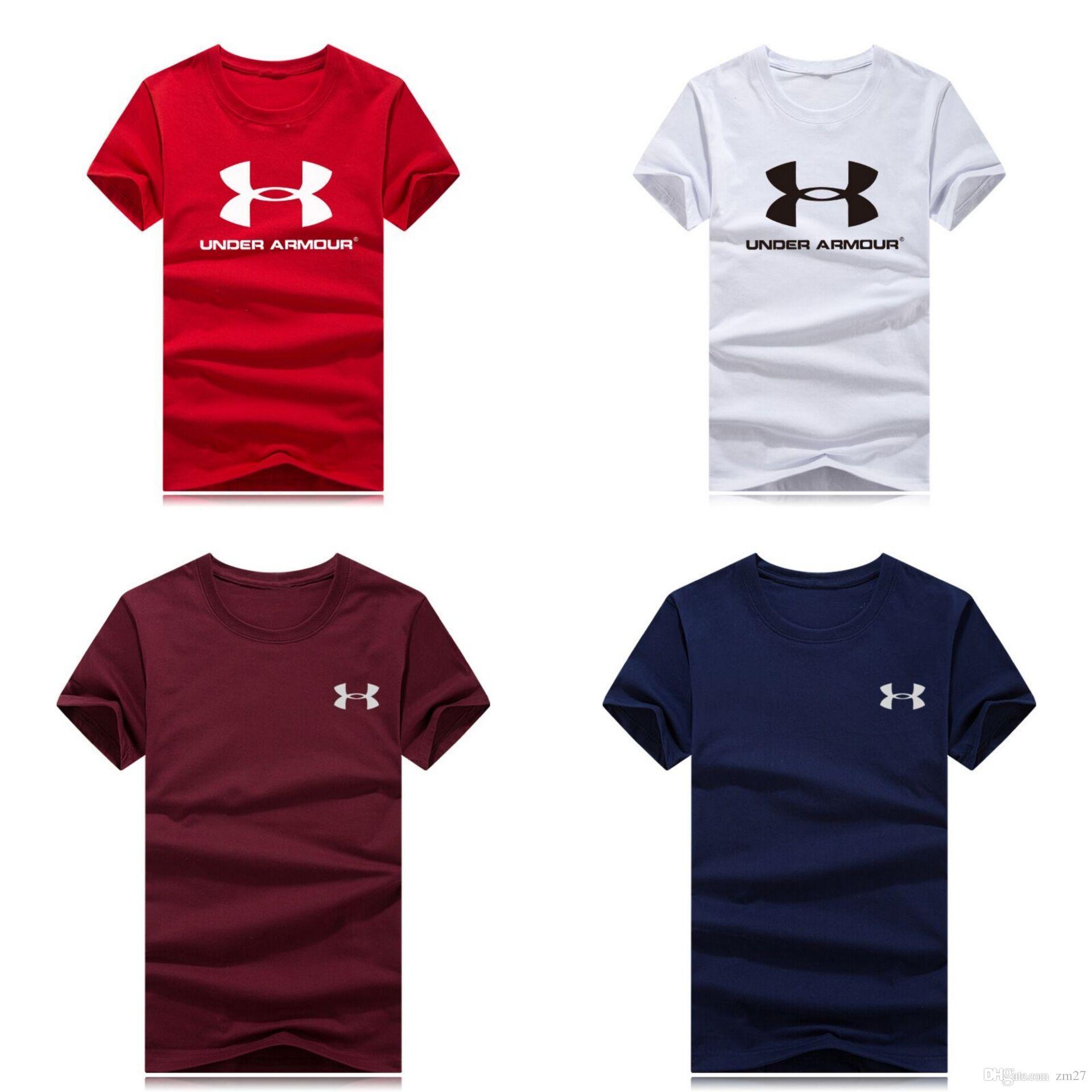 Großhandel neue luxus designer marke rundhals t-shirt sommer neue männer frauen t-stück hip hop casual t-shirt 8 farben
