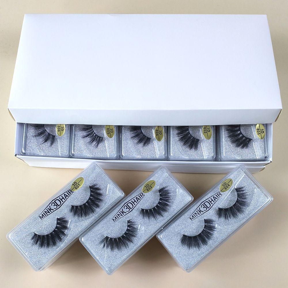 3d nerz Wimpern Großhandel 10 Arten Augen Make-up Mink falsche Wimpern weiche natürliche dicke gefälschte Wimpern 3d Eye Wimpern Verlängerung Schönheit Werkzeuge