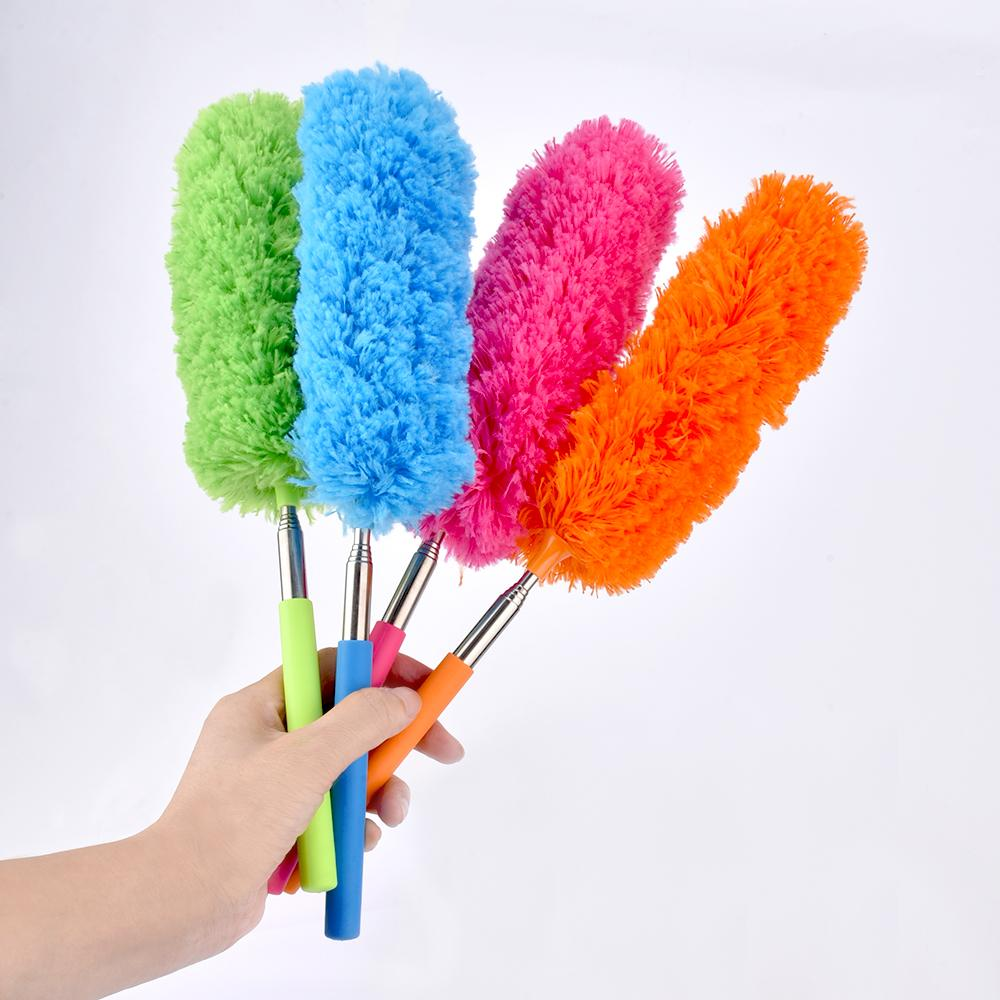 Microfiber Telescoping Duster Extendable Dust Brush Cleaner Closet Car Kitchen Accessory Household Cleaning Supplies (7)