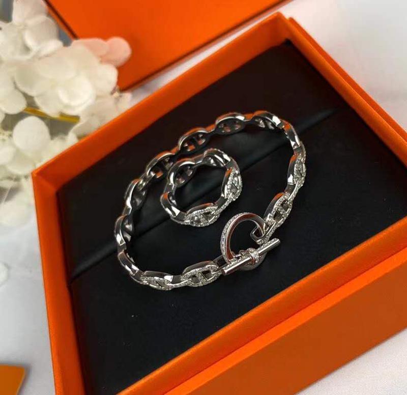 Las pulseras cristalinas completa de Austria espumosos para la joyería de las mujeres Regalo de la muchacha 925 CZ del Rhinestone pavimentado boda