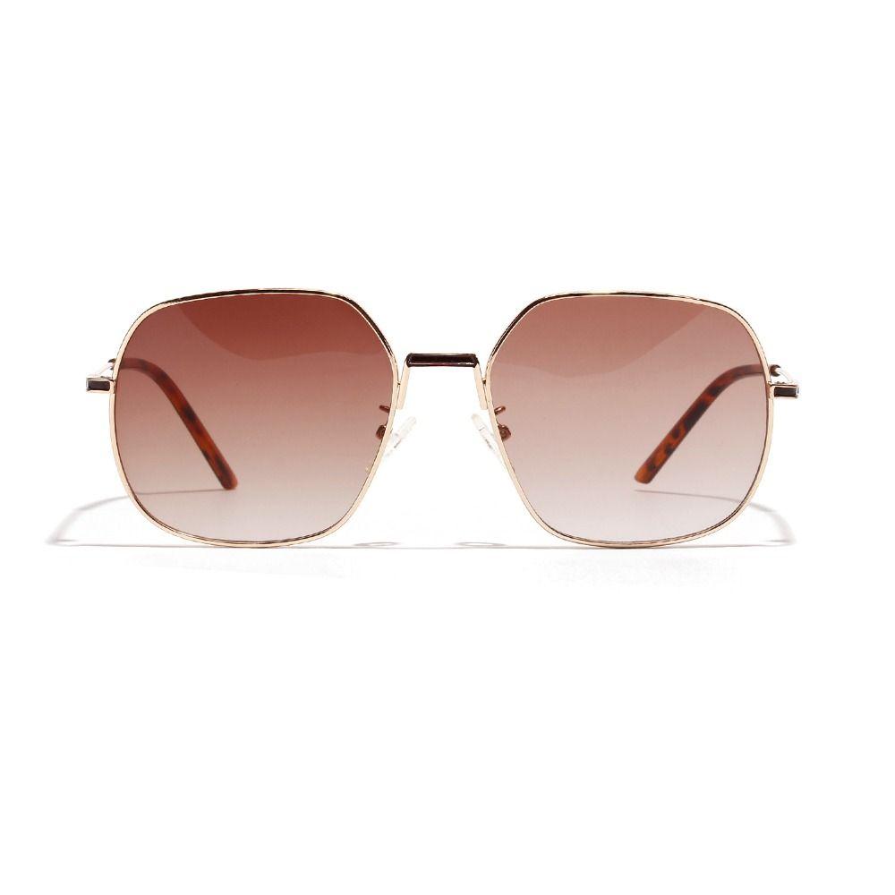 Brand Design Round Dégradé Lunettes de soleil Femmes Hommes Classique Retro Lunettes de soleil pour les femmes Femme Homme Femme Lunettes lentilles claires FML