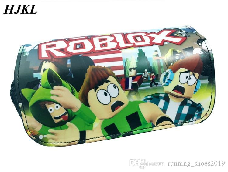 Roblox Backpack Closet Hjkl Game Roblox Lid Double Zipper Pen Bagbolsos Mujer Multi Function Pencil Box Pencil Box For Gift Storage Cosmetic Bag 87320 Cute Bags Designer Purse From Running Shoes2019 23 19 Dhgate Com