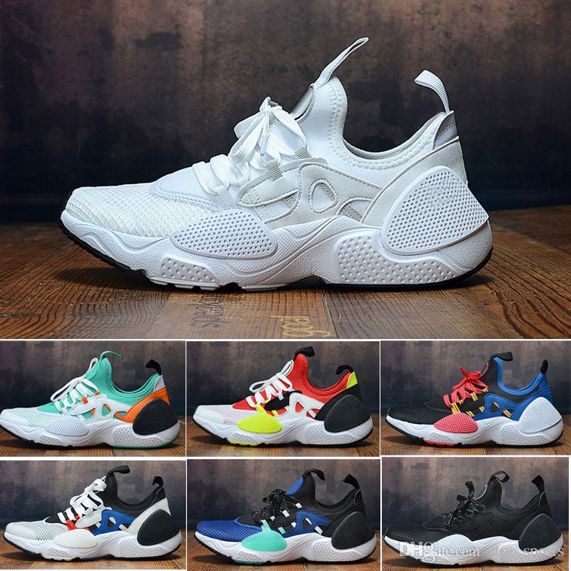 Compre 2019 New Chaussures Nike Air Huarache 8 Edge TXT Inspirado En El  Aire Air Knit Breathe Para Hombre Zapatillas Deportivas Huaraches Designer  ...