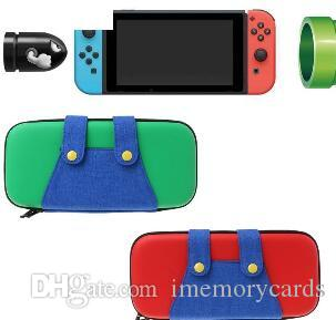 Nintendo Nintend Switch 용 패션 휴대용 케이스 Nintendo Switch NS 콘솔 액세서리 용 게임 보관함 하드 쉘 주머니 포함