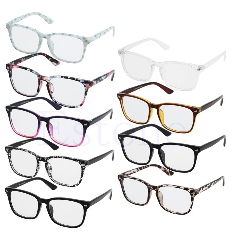 (1) نظارات نظارات نظارات نظارات نظارات نظارات نظارات نظارة نقية من طراز Pc Men/Women Fashion Frame Full Rim Computer