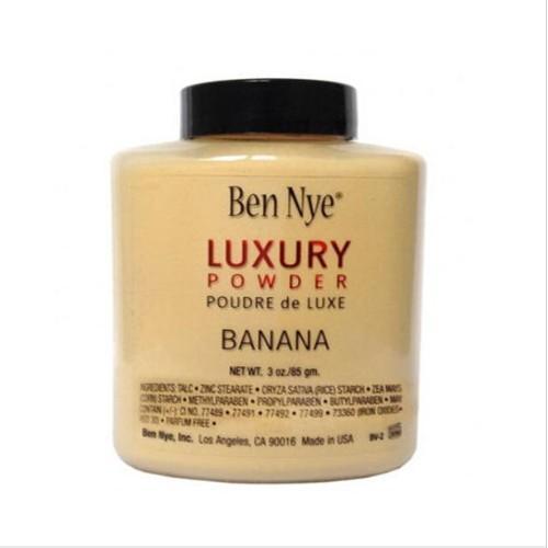 Versand schnell !! Ben Nye Luxus Powder 42g neue natürliches Gesicht loser Puder Wasserdicht Nahrhafte Banana Erhellens 660005