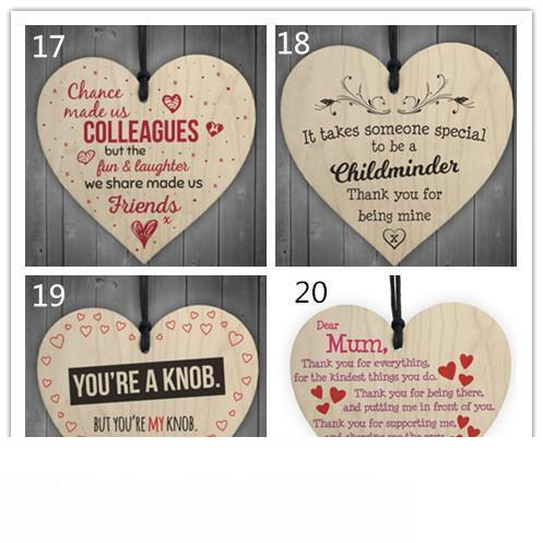 when nights are cold diy wooden heart plaque wine tags hanging signs decor X1