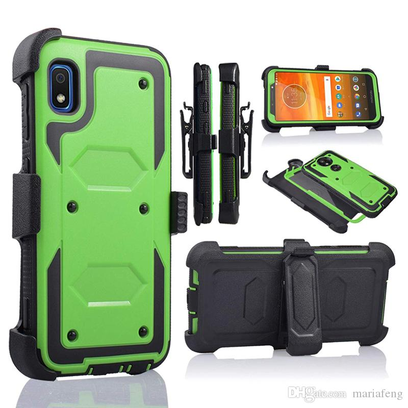 Holster Stand Clip Case For Samsung A10E A11 A01 A21 A30 A51 A70 A71 LG K31 k51 Stylo 6 Shockproof Kickstand Case