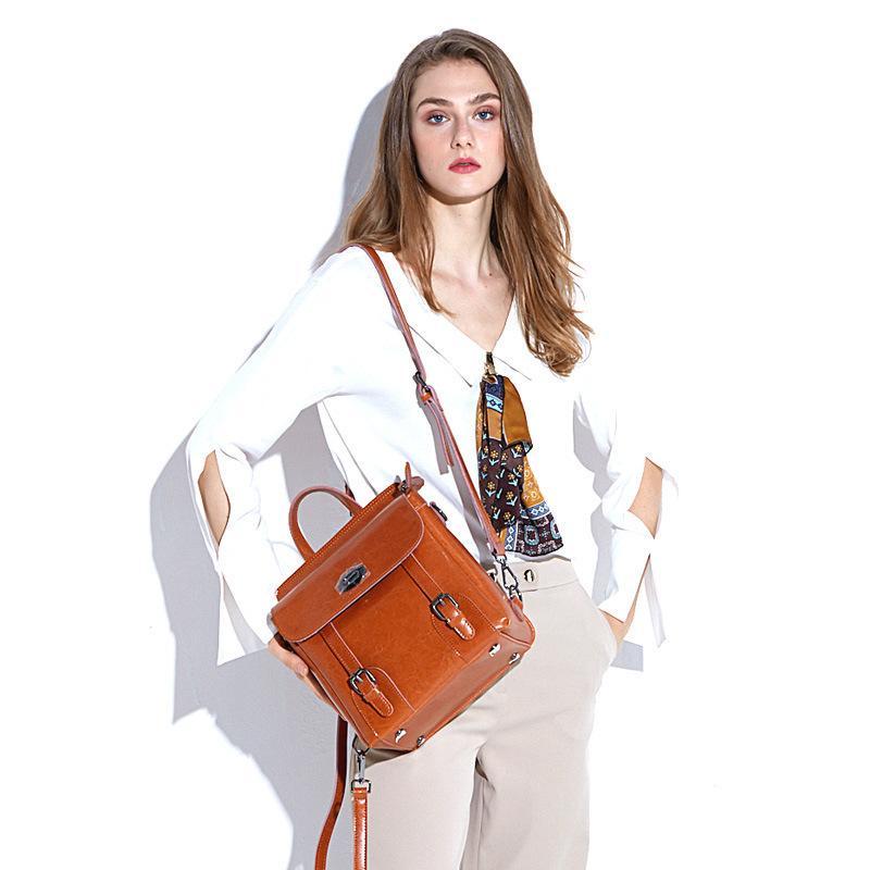 Lucky2019 Omuzlar Hem Kadın Paketi Sırt Çantası Bir Çanta Bavul Ve Çanta