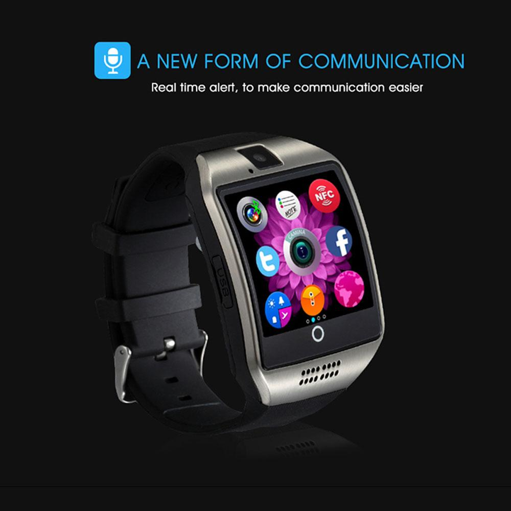안드로이드 PK da09 V1 Y1 2020 스마트 시계와 카메라 Q18 블루투스 Smartwatch를 SIM TF 카드 슬롯 피트니스 활동 추적기 스포츠 시계