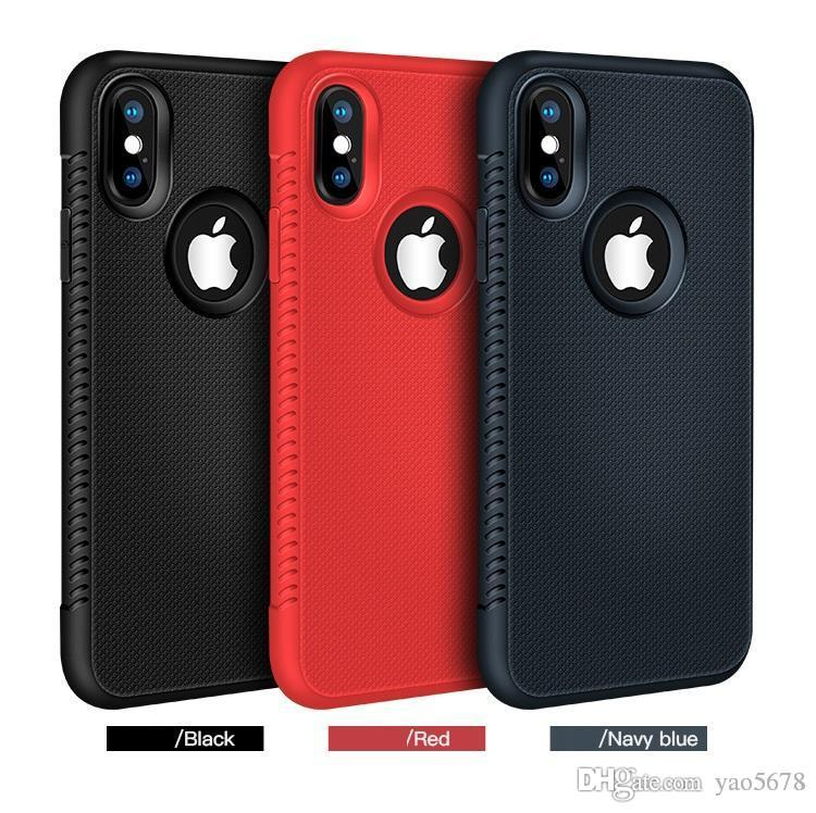 For Iphone XR XS MAX X 6S 7 8 plus TPU soft rubber silicone cell mobile phone case cover slim cover for samsung S8 S9 plus note 8 luxury Q99