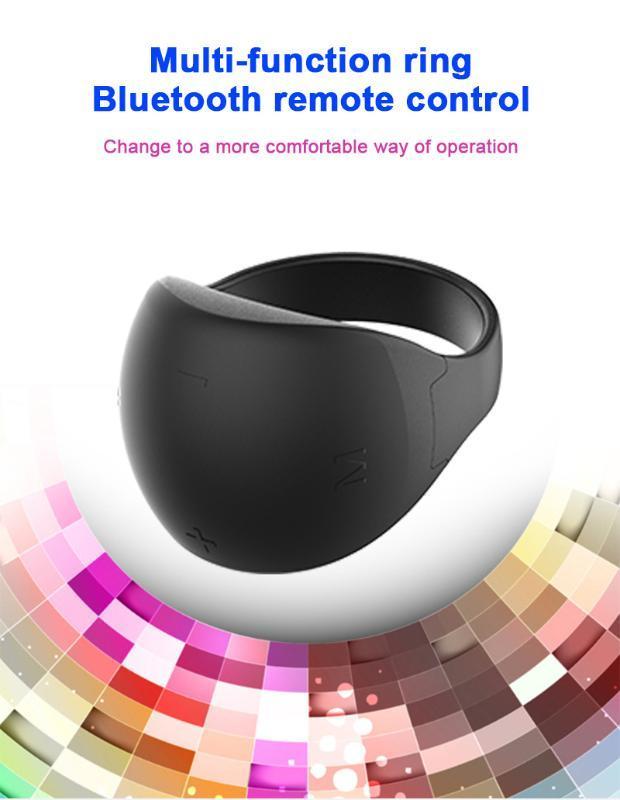 Nouveau multifonction Bluetooth 5.0 anneau télécommande téléavertisseur PPT téléphone mobile Bluetooth accessoires compatibilité télécommande voiture