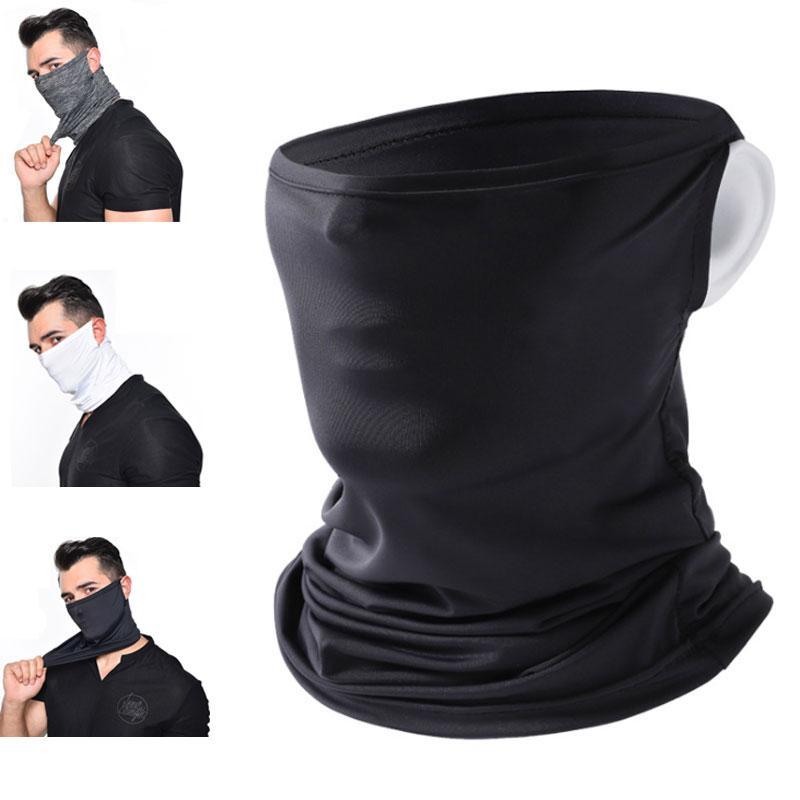 여름 사이클링 낚시 하이킹 실행하기위한 UV 보호 통기성 방진 넥 게이터 얼굴 스카프 마스크 마스크 냉각