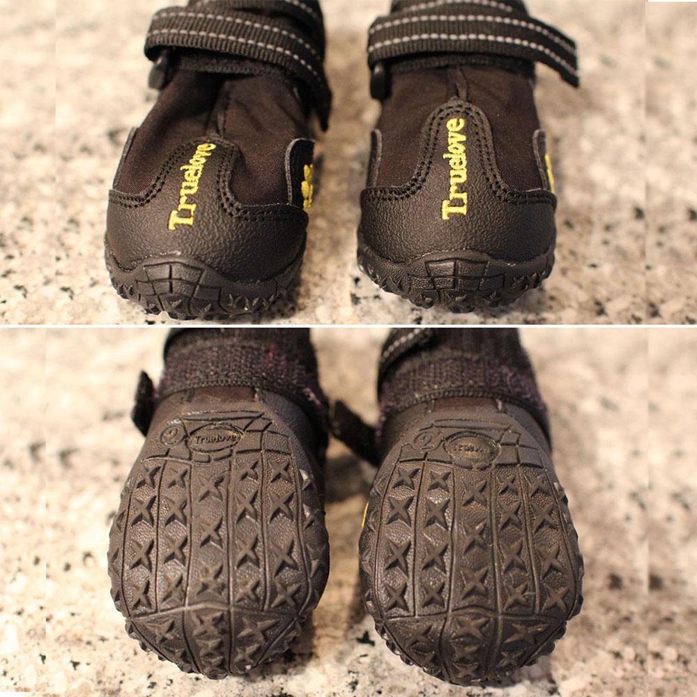 Truelove입니다 애완 동물 개는 큰 작은 개 강아지 부츠에 대한 모든 날씨 Szapatos 파라 페로 방수 야외 레인 슈즈 신발