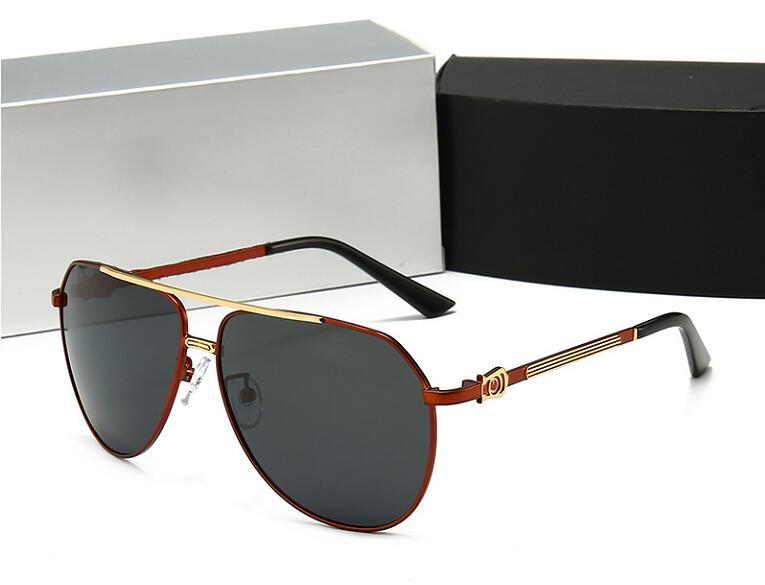 2020 Nuovo Grande Struttura polarizzati occhiali da sole di guida vetri di modo degli uomini di Trend Occhiali 8840 con la scatola originale