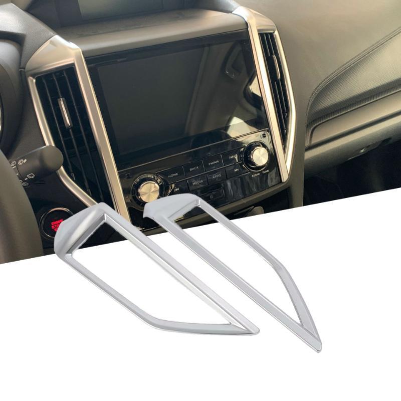Fit For Forester 2019 Central Control Klimaanlage Vent Outlet Abdeckung Trim Interior Autozubehör