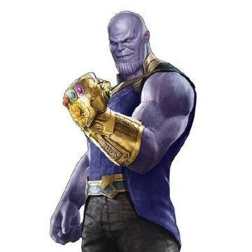 Thanos Mask And Gloves