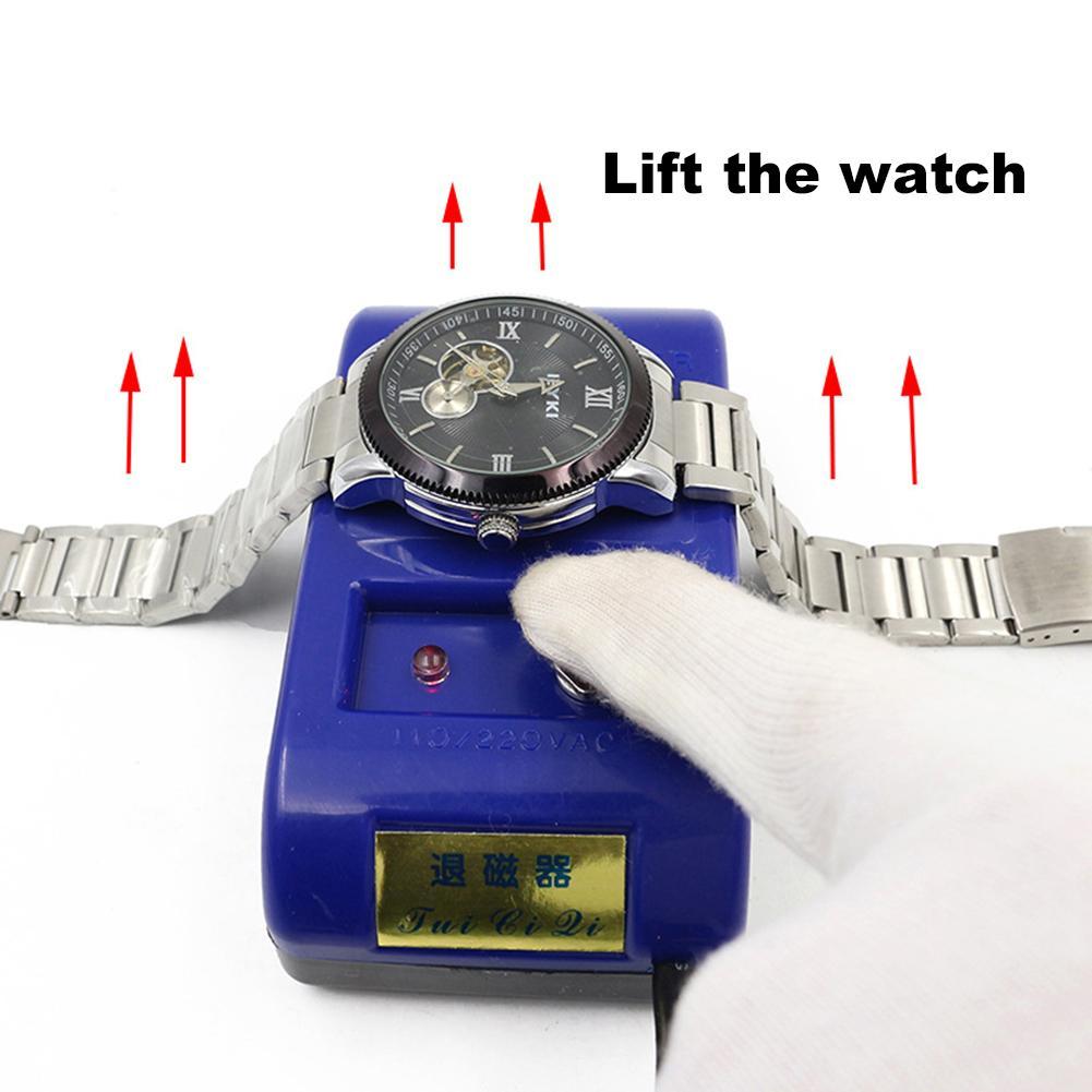 2017 Electrical Watch Demagnetizer Watch Tools Repair Tool Kit herramientas para reloj horloge gereedschap