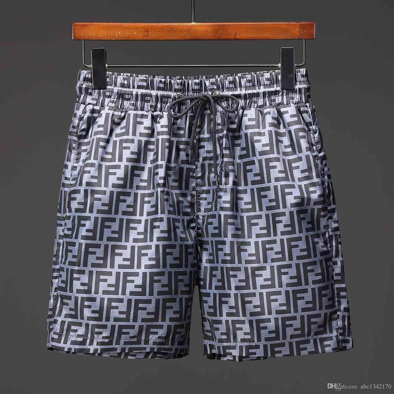 2019 Pantaloncini da bagno estivi per la moda estiva Pantaloncini da bagno per uomo