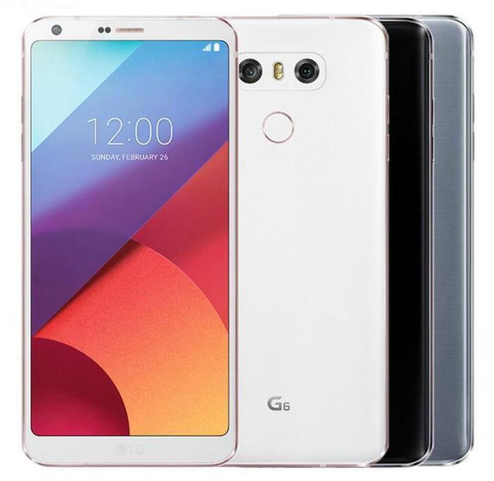 Refurbished Original LG G6 H870K EU Version 5.7 inch Quad Core 4GB/32GB 13MP Dual Camera 4G LTE Unlocked Mobile Phone
