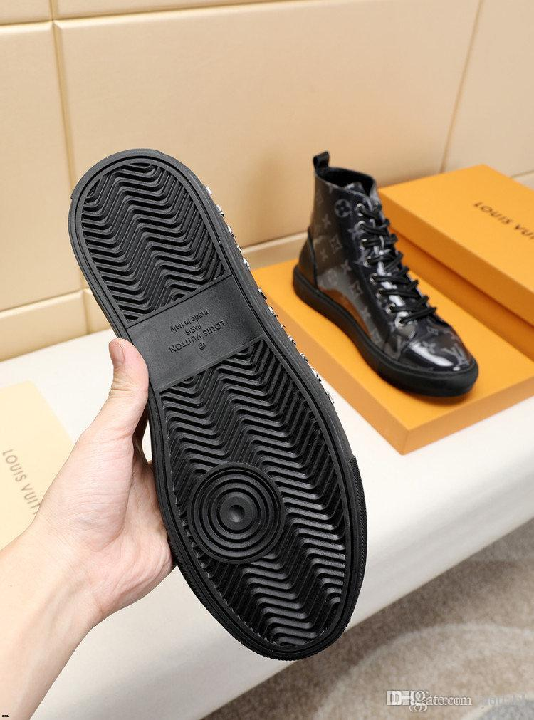 19MM MANs tela respirável sapatos de alta para ajudar Casual Shoes MAN Sport Shoes Tenis Masculino adulto Zapatos De Hombre YETC1