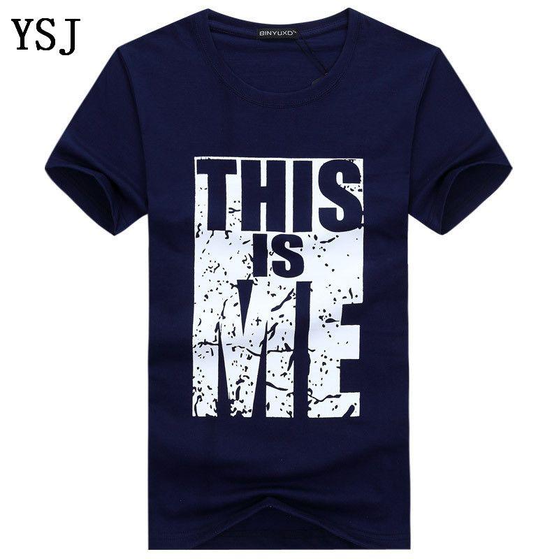 Livraison gratuite T-shirt T-shirt hommes d'été nouveaux hommes T-shirt en coton O-cou à manches courtes T-shirt Mode Hommes Tendance Fitness C-2