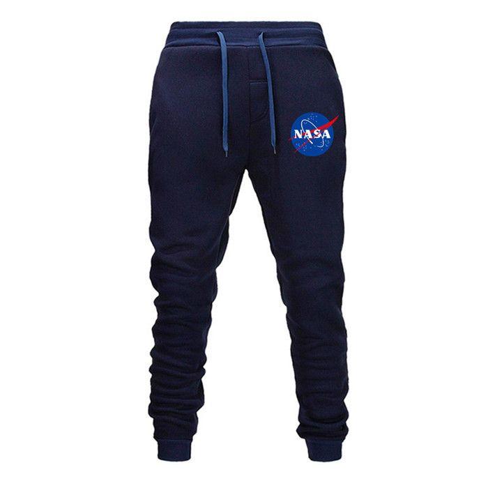 Pantaloni sportivi Harem da uomo in cotone elasticizzato da uomo in cotone elasticizzato con design sportivo da uomo Jogger Outdoor 5 colori