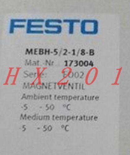 ONE NEW FESTO solenoid valve MEBH-5 / 2-1 / 8-B