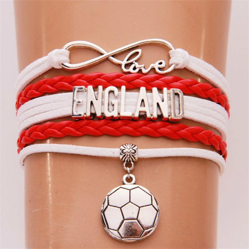 Female Soccer Charm With Lobster Claw Clasp Charms for Bracelets and Necklaces