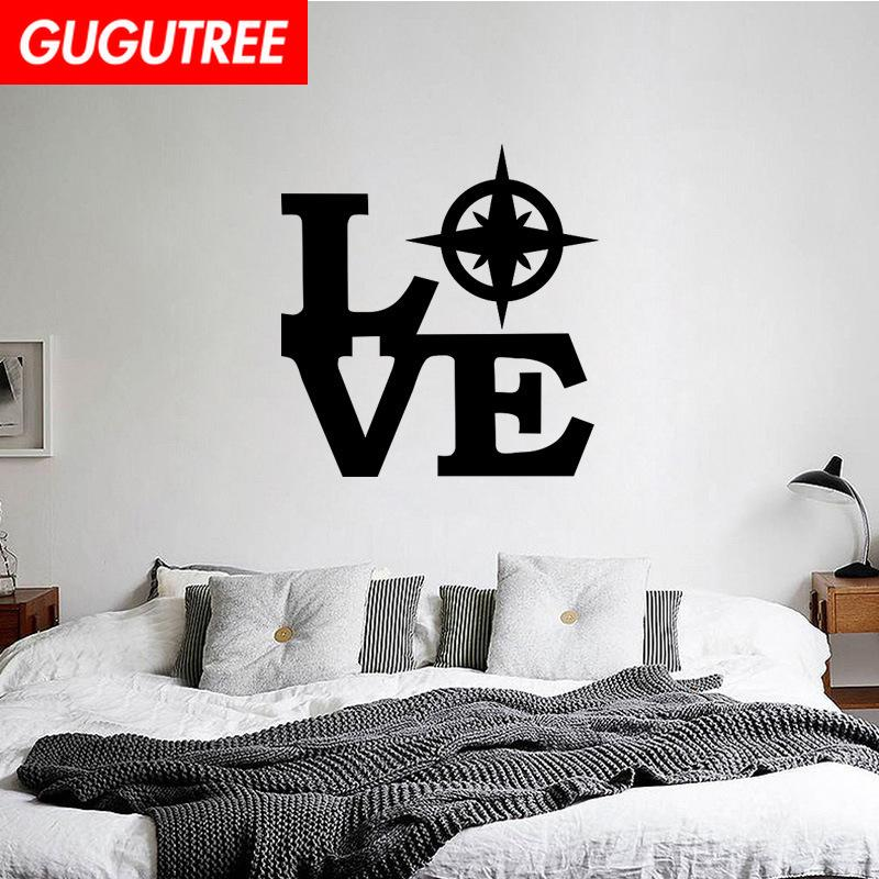 Decorate Home love cartoon art wall sticker decoration Decals mural painting Removable Decor Wallpaper G-2168