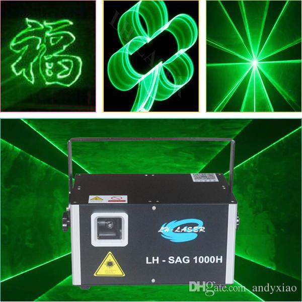 1500MW أخضر ليزر الرسوم المتحركة ضوئي DMX ILDA إضاءة ضوء حزب بار نادي DJ ديسكو الرقص KTV المرحلة الخفيفة المعرض