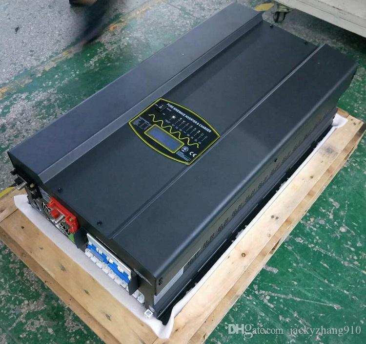 YIY HPHP-PV DC12V / 24V / 48V 5KW PURE SINUS ONDULEUR CHARGEUR THD3% vente chaude 50 / 60Hz / support customize / hors réseau / envoyer de l'usine
