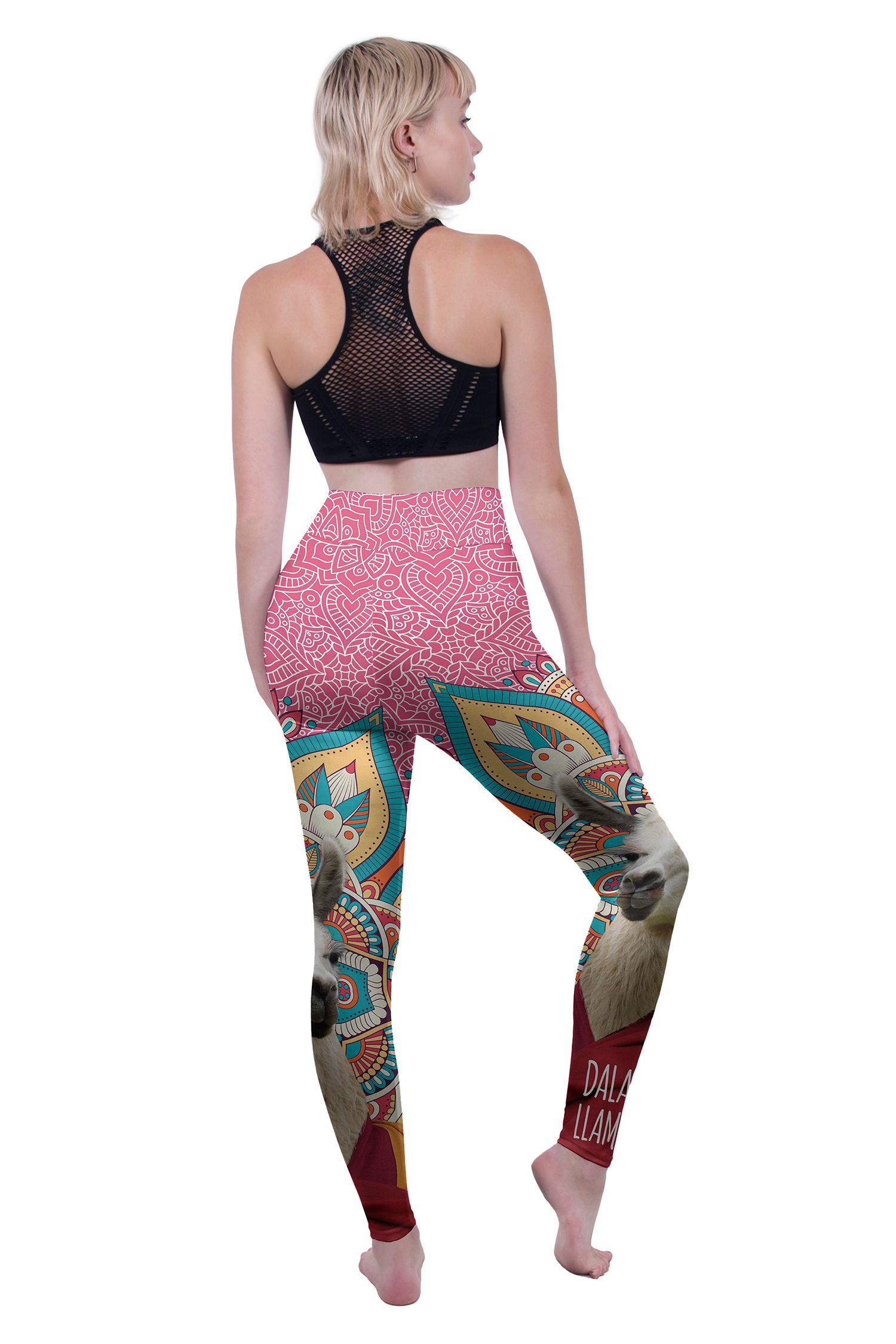 Personalized RNK Shops Llamas Ladies Leggings