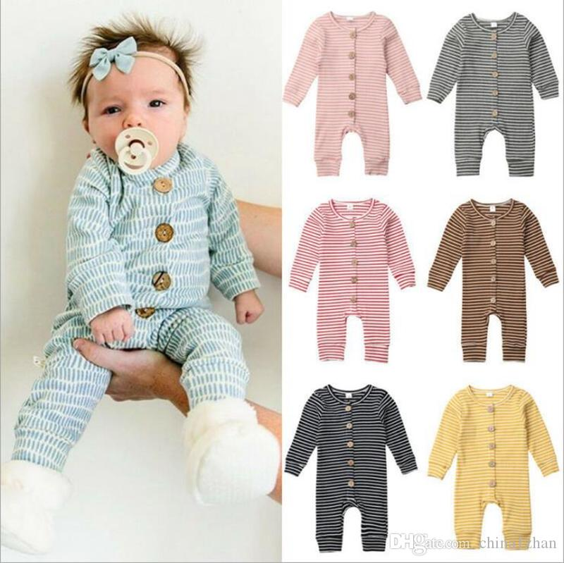 2021 Winter Baby Clothes Striped Infant Boys Rompers Knitted Newborn Girl  Jumpsuits Long Sleeve Toddler Outfits Boutique Children Clothing DW4723  From China1zhan, $6.33 | DHgate.Com