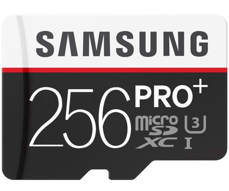 DHL الشحن 16GB / 32GB / 64GB / 128GB / 256GB سامسونج PRO + بطاقة مايكرو التنمية المستدامة CLASS10 / البطاقة الذكية الهاتف TF C10 / كاميرا بطاقة ذاكرة / SDXC بطاقة 90MB / S